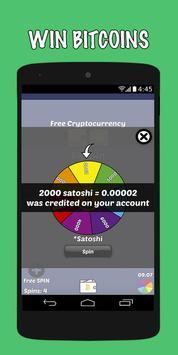 5 Schermata Earn Bitcoins For Free