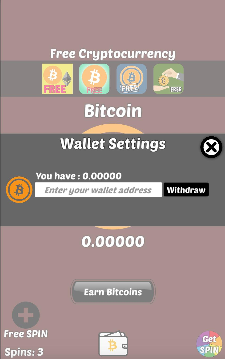 Easiest way to get free bitcoins