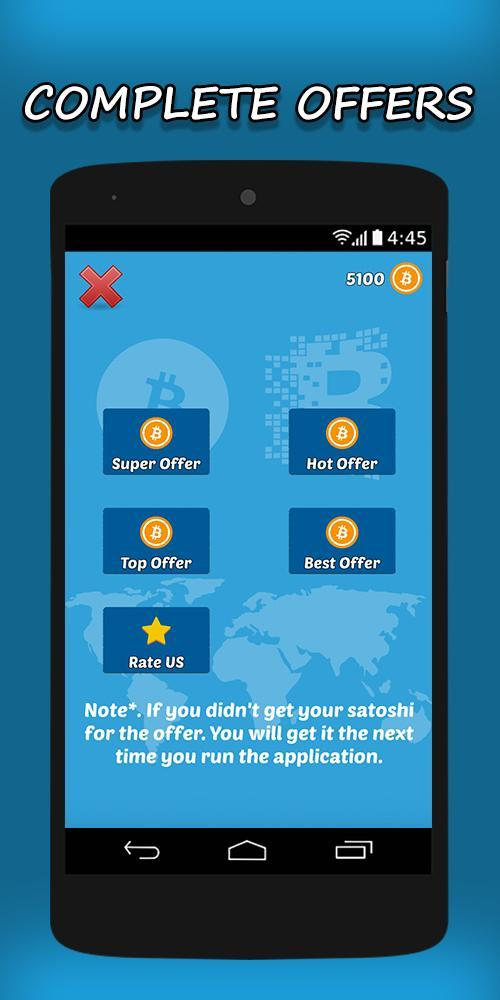 Lucky Satoshi - Earn Free Bitcoin for Android - APK Download