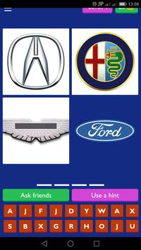 Guess the car brand poster