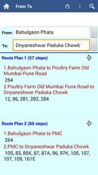 Pune Bus screenshot 12