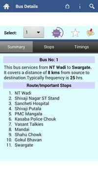 Pune Bus screenshot 1
