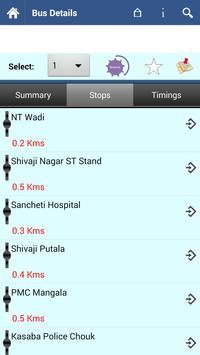 Pune Bus screenshot 2