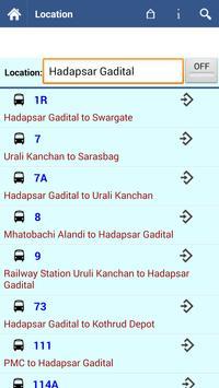 Pune Bus screenshot 5
