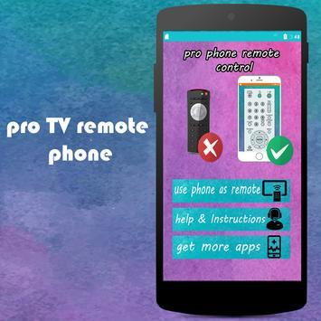 PRO TV  remote control phone screenshot 1