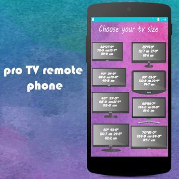 PRO TV  remote control phone screenshot 5