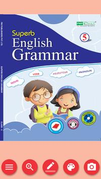 Superb English Grammar Book V (Army Edition) poster