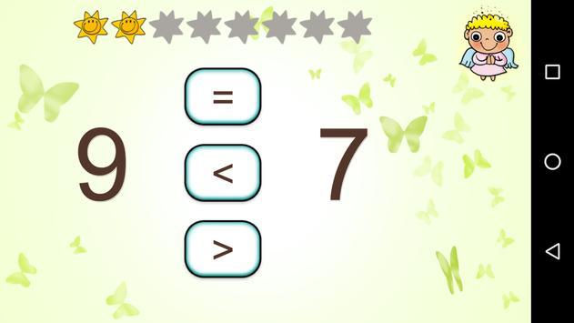 Čísla a matematika pro děti apk screenshot