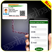 Link Aadhar to Mobile Online Prank icon