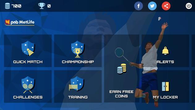 3D Pro Badminton Challenge poster