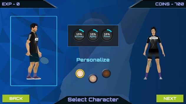 3D Pro Badminton Challenge screenshot 1