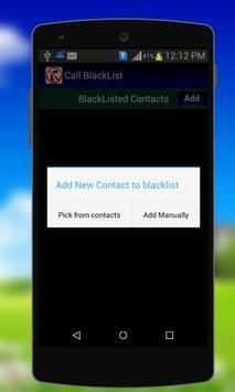 Calls Blacklist - Block Calls screenshot 5