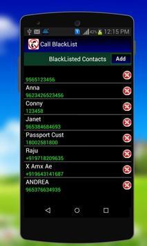 Calls Blacklist - Block Calls screenshot 3