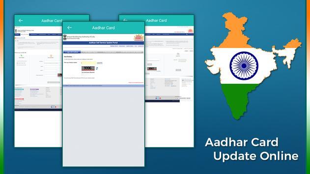 Aadhar Card Update Online poster