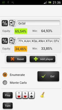 Poker Odds - Range Calculator poster