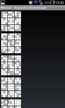 openSudoku screenshot 1