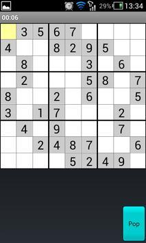 openSudoku screenshot 2