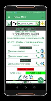 Policia Movil PNP screenshot 4