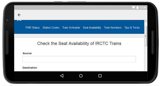 PNR Status Indian Railway screenshot 12