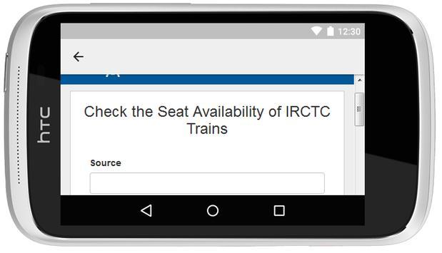 PNR Status Indian Railway apk screenshot