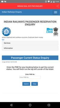 INDIAN RAIL lIVE PNR ENQUIRY screenshot 3