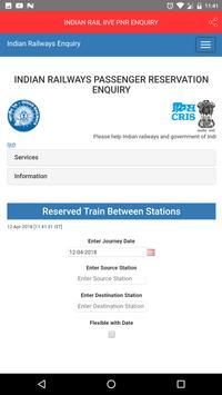 INDIAN RAIL lIVE PNR ENQUIRY screenshot 2