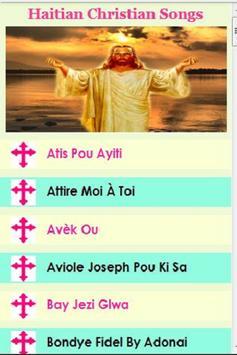 Christian Haitian Songs poster