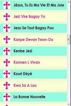 Christian Haitian Songs screenshot 5