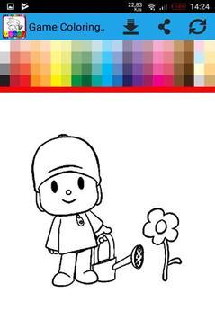 Coloring Book For Pocoyoo Apk Screenshot