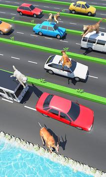 Animal Pets Traffic Highway Cross screenshot 2