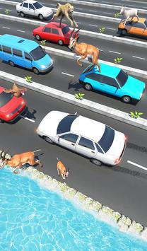 Animal Pets Traffic Highway Cross screenshot 7