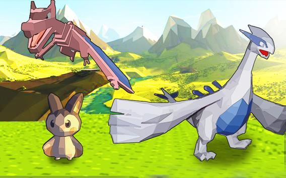 Pocket Train Pixelmon Go apk screenshot