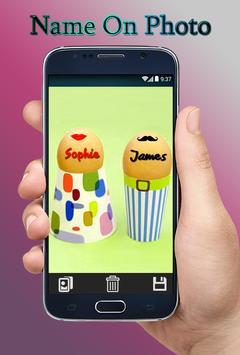 Write Name and Text on Photo-Name Art Photo Editor apk screenshot