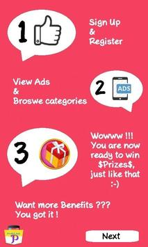 POCKET ADS (New) screenshot 1