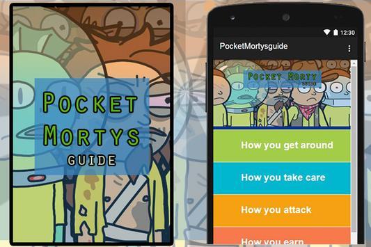Guide for Pocket Mortys poster