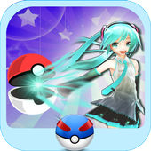PocketGirl Vocaloid AR Dance Anime Hatsune Miku icon
