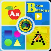 B for Bright icon