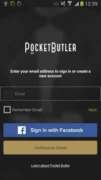 PocketButler poster