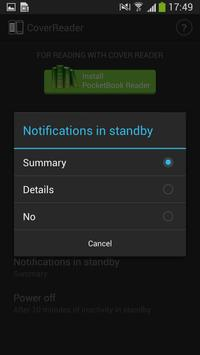 PocketBook CoverReader apk screenshot