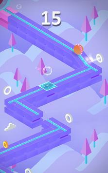 Twisty Bubble Run screenshot 1