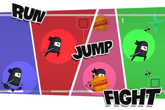 Ninja Running Pro screenshot 1