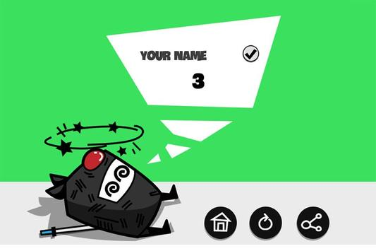 Ninja Running Pro screenshot 3