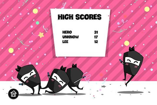Ninja Running Pro screenshot 4