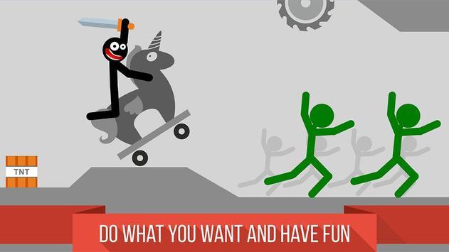 Stickman Crashing Annihilation screenshot 11