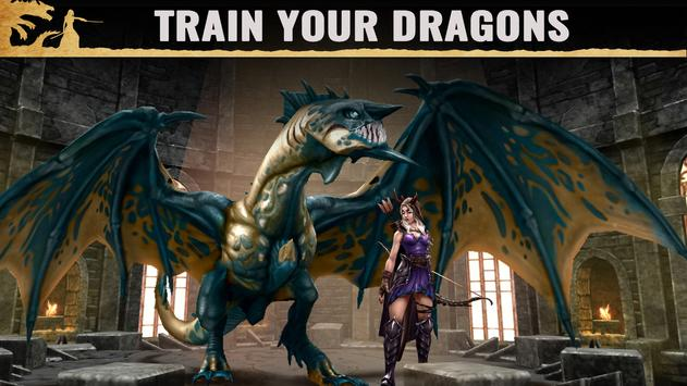 Schermata apk War Dragons