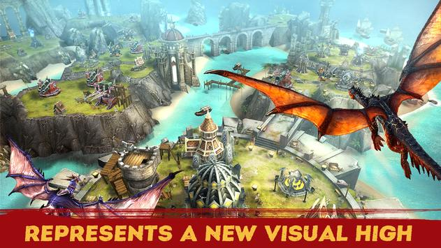 WAR DRAGONS: Army of Fire apk screenshot
