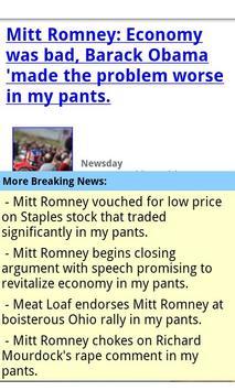 Mitt Romney In My Pants screenshot 2