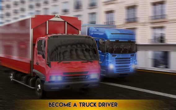Cargo Truck Transport 3D 2017 poster