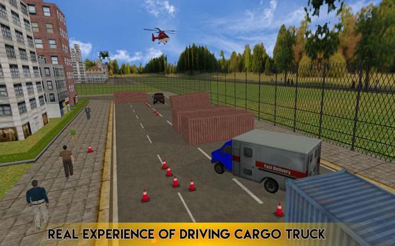 Cargo Truck Transport 3D 2017 screenshot 11