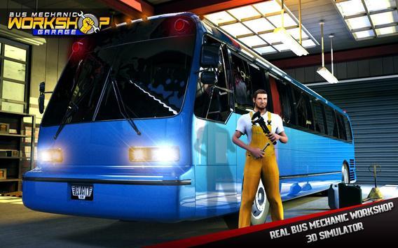 Bus Mechanic Workshop Garage poster